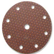 Circular Brown Ultimax 9 hole 150mm disc