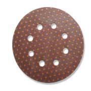 Circular Brown Ultimax 8 hole 125mm disc
