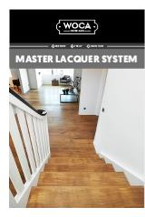 Master Lacquer System Caption with image of wooden staircase as the image above the link for the Master Lacquer System Download